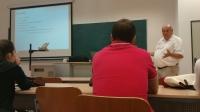 El profesor Schwetlick durante su seminario
