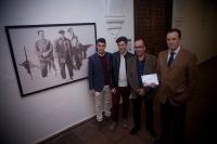 De izq a dcha: Pablo Allepuz, Gil Gijón, Jose Alvarez y Eulalio Fernandez