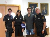 jornada informativa con la policía de los alumnos extranjeros de la Facultad de Veterinaria