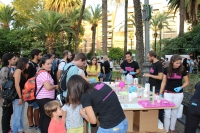 Imagen de la Feria de los Ingenios durante la edición de 2017.