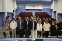 Autoridades en la inauguración de la Conferencia