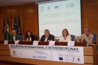 Un momento del reciente encuentro internacional celebrado en Jaén