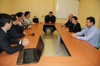 Un momento de la reunión mantenida en el Rectorado de la Universidad de Córdoba.