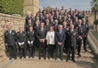 La alcaldesa de Córdoba y el rector con autoridades y premiados