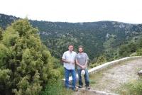 Juan Moral  (dcha) y Antonio Trapero