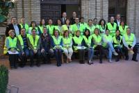 Foto de familia de los integrantes de los equipos de Emergencia de la Facultad de Filosofía y Letras