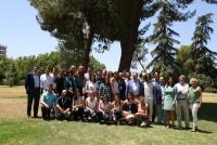 Foto de familia de autoridades y asistentes al Campus Universitario