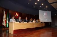 Autoridades en la presentación del Plan