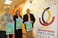 De izda. a dcha., Esperanza Jaqueti, Rosario Mérida y José Matas