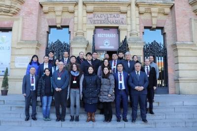 PROYECTO CACILM-2  Un equipo internacional busca mejorar la productividad del agua de países asiáticos en la UCO