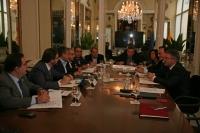 Un momento de la reunión de los rectores celebrada en Cádiz