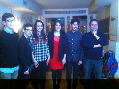 De izquierda a derecha, Carlos Catena, Carmen Manuela Rocamora, Julia Pumariño, Estefanía Cabello Rosa, Ángelo Néstore y Javier Fernández.