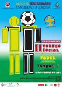 Torneos sociales de pádel y fútbol 7 para personal de la UCO en junio