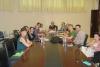Asistentes a la última reunión del grupo europeo celebrada en el Rectorado