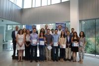 Foto de familia de los participantes del curso