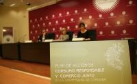 Presentación del Plan de Acción de Consumo Responsable y Comercio Justo