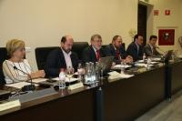 Un momento de la sesión de Consejo de Gobierno
