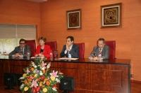 De izq. a dcha: Luis Rodríguez, Julia Angulo, Jose Antonio Nieto y Francisco Villamandos
