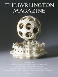 Portada de The Burlington Magazine