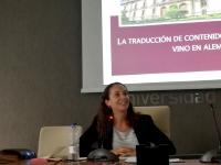Pilar Castillo en XIV Congreso de Traducción, Texto e Interferencias