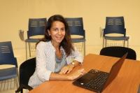 Investigadora responsable del estudio, Lourdes Arce
