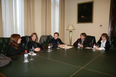 Un momento de la reunión