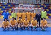 El equipo de balonmano de la UCO en Antequera