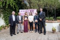 Autoridades que han participado en la presentación del la novena edición del FIP