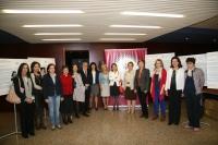 Participantes en las II Jornada AMIT celebrada en el Rectorado