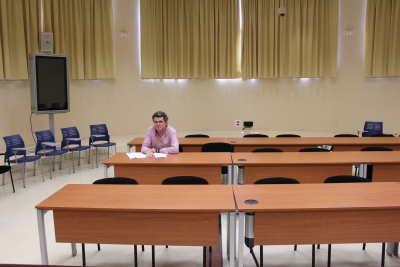 El coordinador de la investigación, Antonio Adolfo Rodero