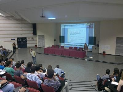 Un momento de la presentación del programa