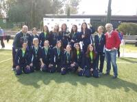 Selección de baloncesto femenino, una de las que inician su trabajo, y que intentará revalidad el título de campeonas de Andalucía obtenido el pasado curso.