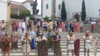 Un momento de la ceremonia de restitución de Mellaria