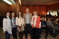 De izquierda a derecha, Rocio Rubio, María Rosal, Ana Mª Guijjarro, Juan Antonio Moriana y Rosario Mérida.