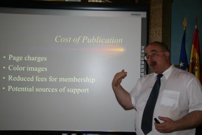 J.P. KAstelic, durante su charla