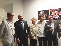 De izquierda a derecha, Alfonso de la Torre, Manuel Torres, Pilar Citoler, Jorge Yeregui y Alberto Anaut