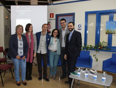 Participantes en el acto de presentación del libro de Octavio Salazar