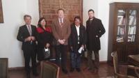 Visita de la delegación de Cuzco