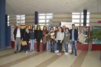 Equipo decanal con ganadores y profesores