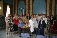 Veterinarios de la promoción del 59 visitan el Rectorado