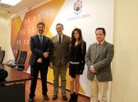 De izquierda a derecha, Ángel Cañadilla, Eulalio Fernández, Maica Rivera y Juan de Dios Torralbo.