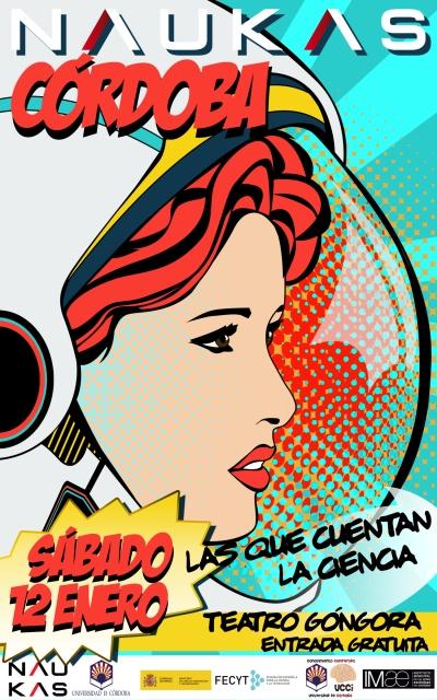 Naukas aterriza en Córdoba de la mano de 'Las que cuentan la ciencia'