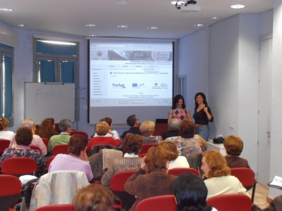 Un momento de la presentación