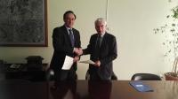 El rector de la UCO y el presidente del Ifapa firman el convenio de colaboración
