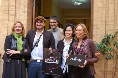 De izq a dcha. Anabel Carrillo, Edgar Burgos, Pablo Garcia Casado, May Silva y Carmen Blanco