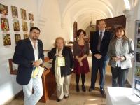 De Izq a dcha. Manuel Marcos, Mercedes Cámara, Carmen Liñan, Eulalio Fernández y Ana Padilla