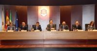 Vista general de la mesa de  Orientación Vocacional celebrado en el Rectorado de la UCO
