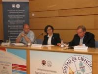 Un momento de la conferencia del profesor Van der Woort