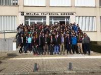 Foto de familia de participantes en la jornada científica de puertas abiertas