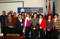 Participantes en la primera sesión de las jornadas